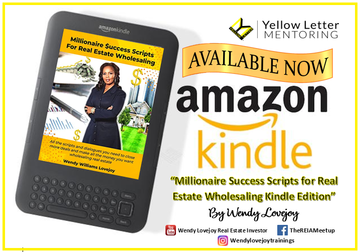 """Start Your Real Estate Journey with My New eBook, """"Millionaire Success Scripts for Real Estate Wholesaling"""""""